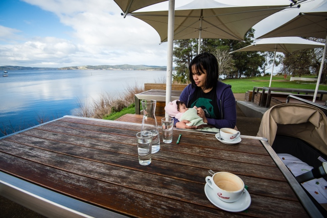 Coffee at Peppermint Bay
